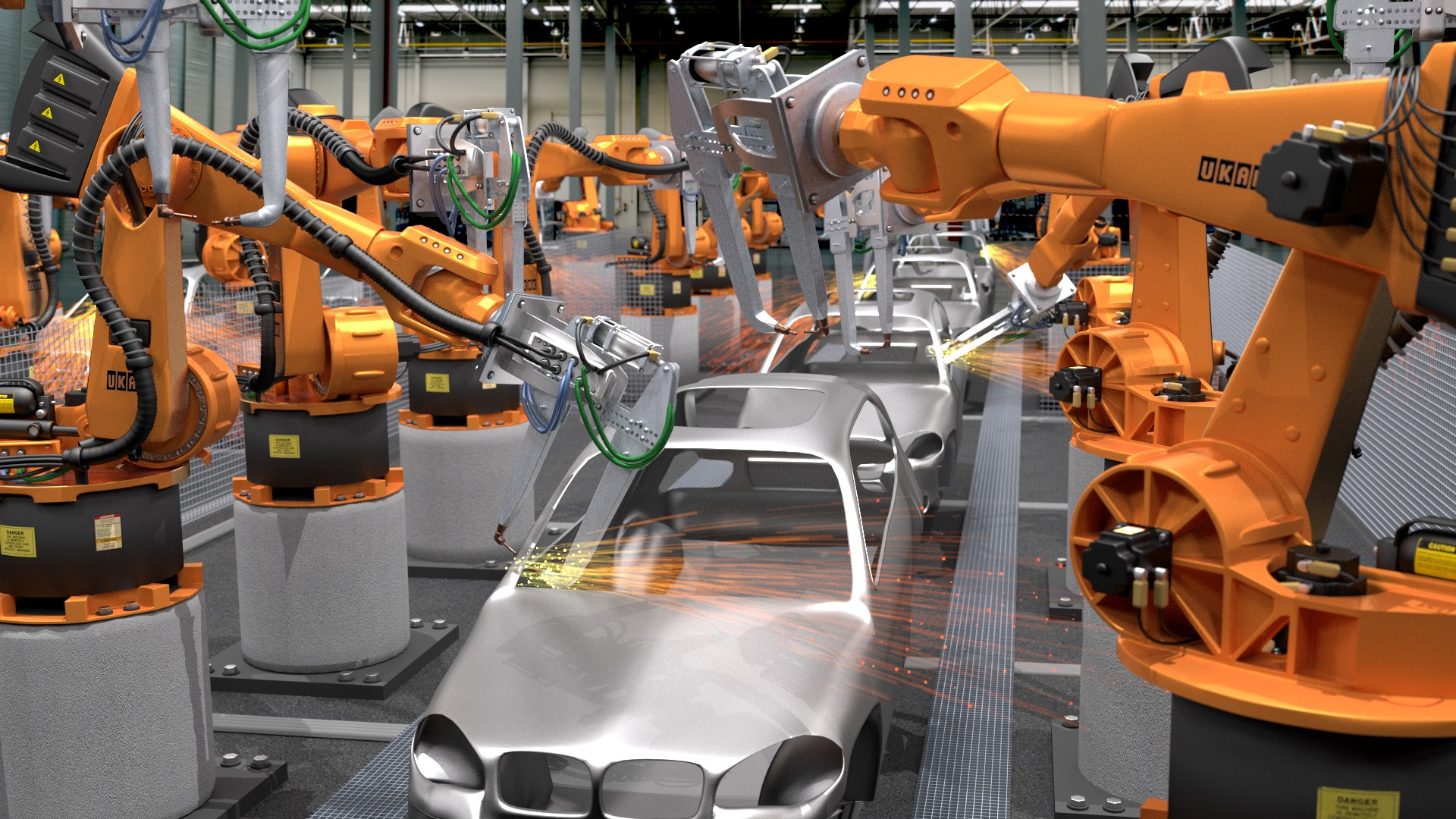 Benefícios importantes de robôs industriais - Cim Automação
